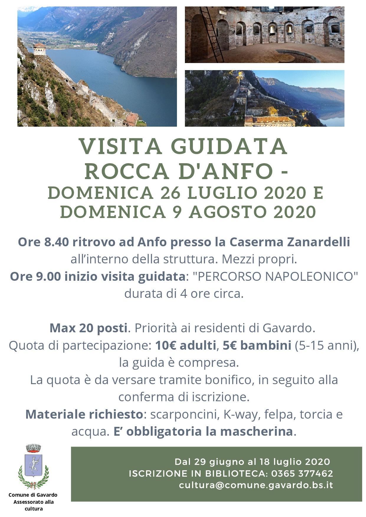 Visita guidata Rocca d'Anfo
