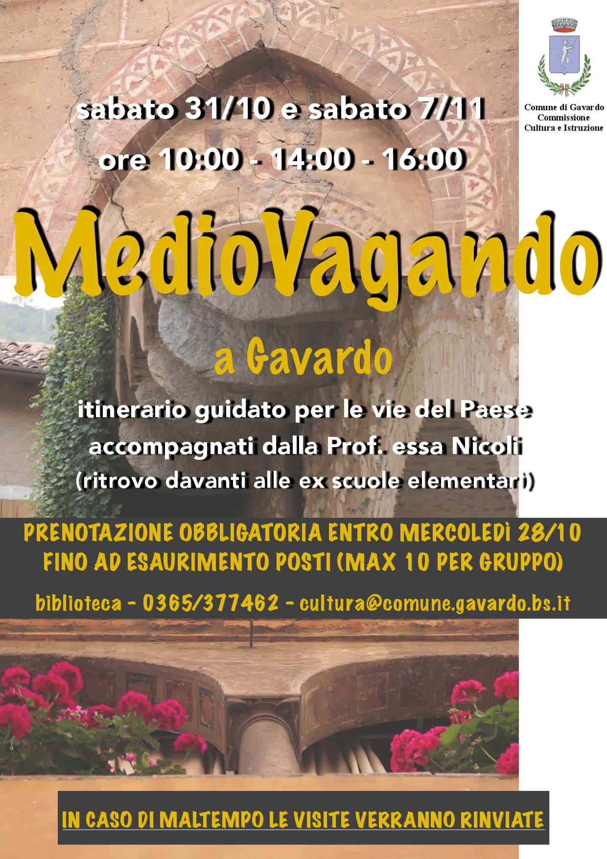 MEDIOVAGANDO. Storia, anedotti, curiosità della Gavardo Medievale
