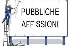 Nuovo servizio per le affissioni pubbliche